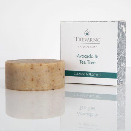 Natural Avocado & Tea Tree Soap Trevarno Skincare