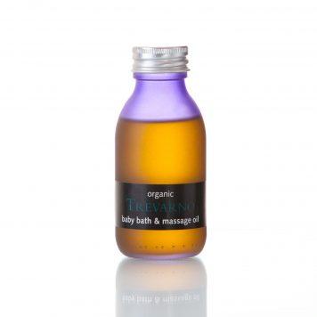 Organic Baby Bath & Massage Oil Trevarno Skincare