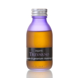 Organic Lavender and Geranium Cleansing Oil Trevarno Skincare