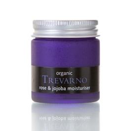 Organic Rose & Jojoba Moisturiser Trevarno Skincare