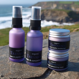 Organic Facial Starter Kit (Dry / Mature) Trevarno Skincare