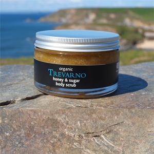 Organic Honey & Sugar Body Scrub Trevarno Skincare