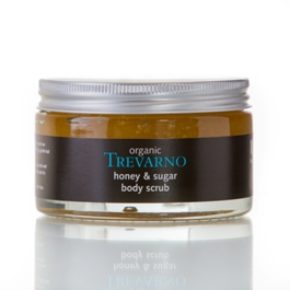 Organic Honey & Sugar Body Scrub Trevarno Skincare