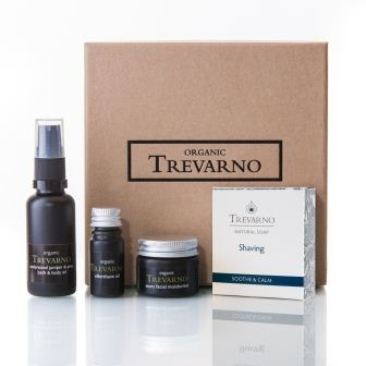 Mens Shaving Kit Gift Set Trevarno Skincare