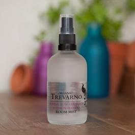 Organic Jasmine, Rose Geranium & Lemon Verbena Room Mist Trevarno Skincare