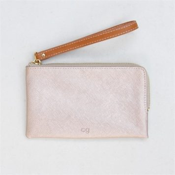 Caroline Gardner Rose Tinted Purse