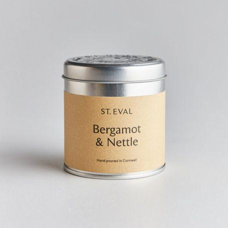 Bergamot & Nettle Scented Tin Candles