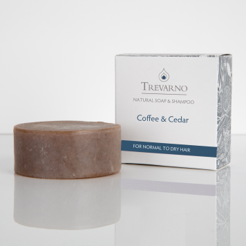 Coffee & Cedar Soap & Shampoo Bar